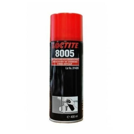 Anti-glissant courroies LOCTITE 8005 aérosol 400 ml