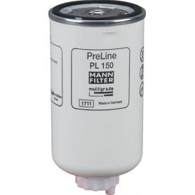 Filtre à carburant MANN-FILTER PL150