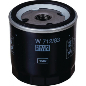 Filtre à huile MANN-FILTER W71283