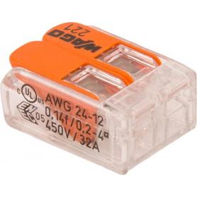 Cosse de batterie WAGO 221412