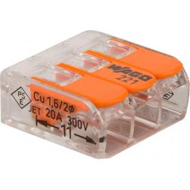 Cosse de batterie WAGO 221413
