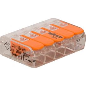 Cosse de batterie WAGO 221415