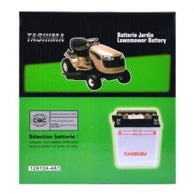 Batterie 12v 12a/h - 12N12A-4A1 borne + à gauche TASHIMA