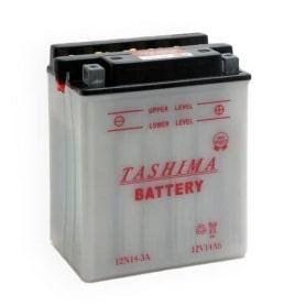 Batterie 12N14-3A - YB14L-A2 LIVRÉE AVEC ÉLECTROLYTE