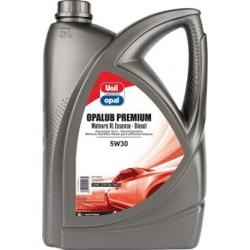 Huile Opalub Premium 5W30 - 5l UNIL OPAL SP191218UO