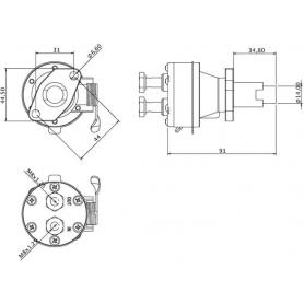 Pompe à carburant UNIVERSEL 130506140KR