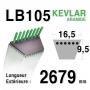 Courroie lb105 - 16,5 mm x 2679 mm