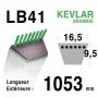 Courroie lb41 - 16,5 mm x 1053 mm