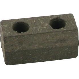 Plaquette de frein CASTELGARDEN 1252070001 - 125207000/1 - 80280-VK1-003