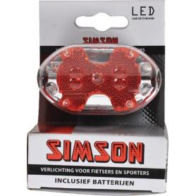 Phare arrière SIMSON 020755SIM