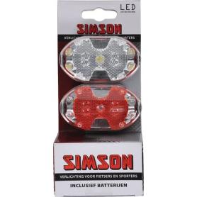 LED batterie avant arrière SIMSON 020757SIM