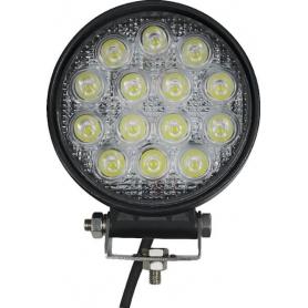 Phare de travail LED rond 42W GOPART LA15028