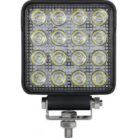 Phare de travail LED rectangle 25W UNIVERSEL LA10024