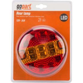 Feu arrière LED rond câblé GOPART LA45050