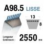 Courroie spécifique CASTELGARDEN 35062010 HONDA cg35062010h0 SOLO - ISEKI - a98,5