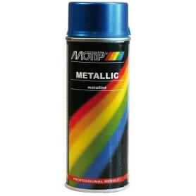 Vernis métallique bleu 400mL MOTIP 04044
