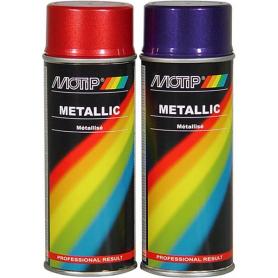 Vernis métallique rouge 400mL MOTIP 04045
