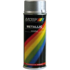 Vernis métallique argent 400mL MOTIP 04046