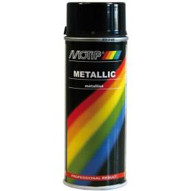 Vernis métallique noir 400mL MOTIP 04049