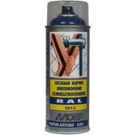 Peinture spray bleu cobalt MOTIP 07002
