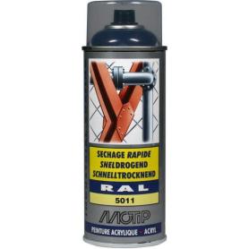 Peinture spray bleu acier MOTIP 07005