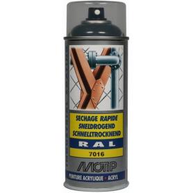 Peinture spray gris anthracite MOTIP 07020