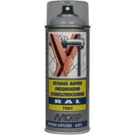 Peinture spray gris argent MOTIP 07026