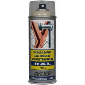 Peinture spray gris silex MOTIP 07032