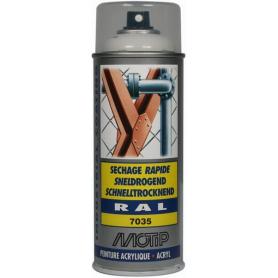 Peinture spray gris clair MOTIP 07034