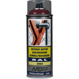 Peinture spray rouge MOTIP 07106