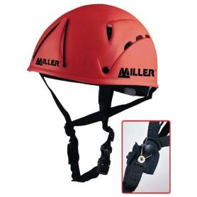 Casque de sécurité rouge MILLER 1007048MH