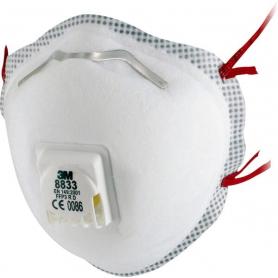 Masque anti-poussière 3M 8833P10