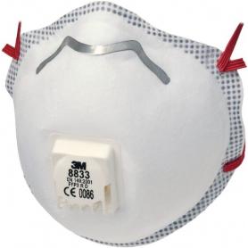 Masque anti-poussière 3M 8833S