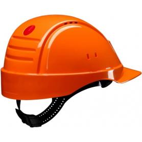 Casque de sécurité orange 3M G2000DUVOR
