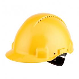 Casque de sécurité jaune 3M G3000NUVGU