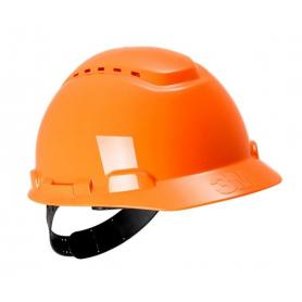 Casque de sécurité orange 3M H701COR