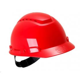 Casque de sécurité rouge 3M H701CRD