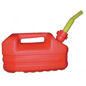Jerrican plastique 5L rouge EDA JK0101605R
