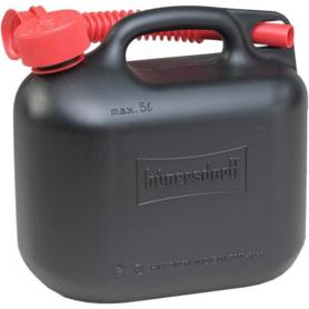 Jerrican plastique 5L noir HÜNERSDORFF JK8114