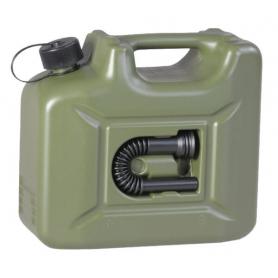 Jerrican plastique 10L vert HÜNERSDORFF JK8010
