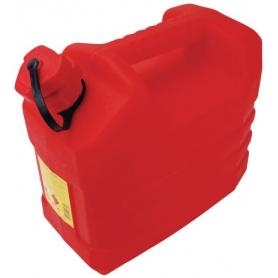 Jerrican plastique 10L rouge EDA JK0101610R