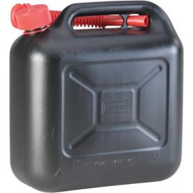 Jerrican plastique 10L noir HÜNERSDORFF JK8128