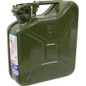 Jerrican métal 5L vert GOPART JK575025