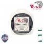 Coque fil nylon hélicoïdal copolymère VORTEX - 2,40 mm x 15m - qualité professionnelle - fabrication américaine