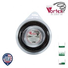 Coque fil nylon hélicoïdal copolymère VORTEX - 3,30 mm x 18,3M - qualité professionnelle - fabrication américaine