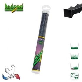 Tube 20 fils nylon cranté NYLSAW - 4 mm x 26 cm - qualité professionnelle - fabrication française