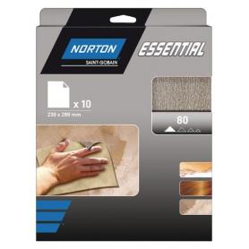 Papier abrasif 230x280mm NORTON 66623379851