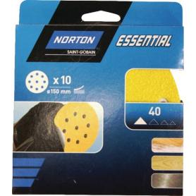 Papier abrasif 150mm NORTON 66623379814
