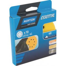 Papier abrasif 125mm NORTON 66261118238