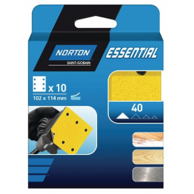 Papier abrasif 102x114mm NORTON 66623379842